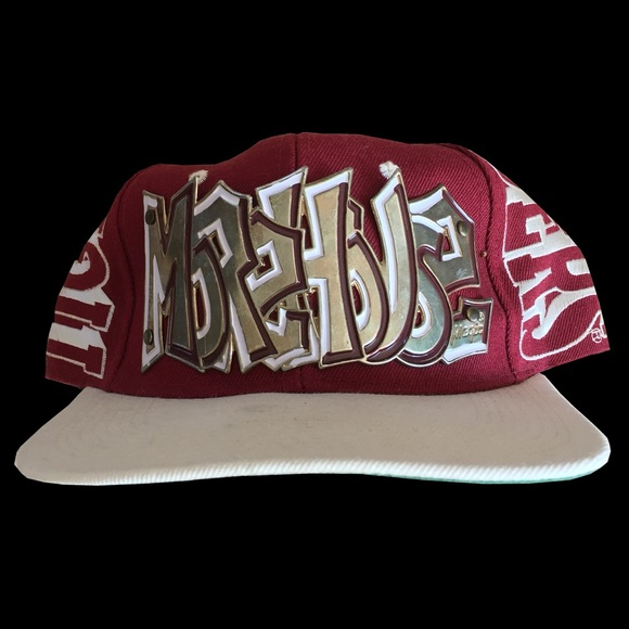 huge selection of b7e9a 78f9b Vintage Morehouse College Maroon Tigers Snapback